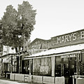 Mary's Bar Cerrillo Nm by Christine Till