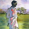 Masaai Boy by Carole Johnson