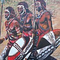 Blaa Kattproduksjoner       Masaai Warriors by Sigrid Tune