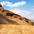 Masada Mountaintop Fortress by Thomas R Fletcher