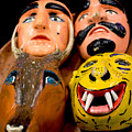 Mascaras 4 by Totto Ponce