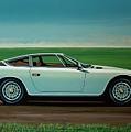 Maserati Khamsin 1974 Painting by Paul Meijering