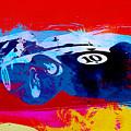 Maserati On The Race Track 1 by Naxart Studio
