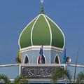 Masjid Hidayatussaligeen Center Dome Dthcb0245 by Gerry Gantt