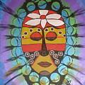 Mask IIi by Sheila J Hall