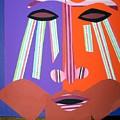 Mask With Streaming Eyes by Debra Bretton Robinson