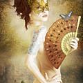 Masked Lady by Cactus Sun Studio