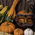 Masked Pumpkin by Garry Gay