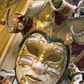 Masks For Sale - Venice, Italy by Dan Nourie