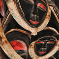 Masks Of Africa by Barbara Fontes