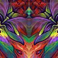 Masqparade Tapestry 7a by Ricardo Chavez-Mendez