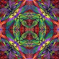 Masqparade Tapestry 7c by Ricardo Chavez-Mendez
