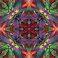 Masqparade Tapestry 7d by Ricardo Chavez-Mendez