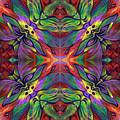 Masqparade Tapestry 7e by Ricardo Chavez-Mendez
