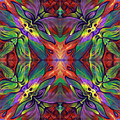 Masqparade Tapestry 7f by Ricardo Chavez-Mendez