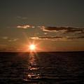 Massachusetts Bay Sunset by Jack Foley