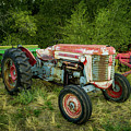 Massey Ferguson 50 Tractor And Farming Equipment by TL Mair