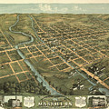 Massillon Ohio 1870 by Mountain Dreams