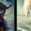 Massive Dragon - Gently Cross Your Eyes And Focus On The Middle Image by Brian Wallace