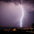Massive Lightning Storm by Ron Chilston