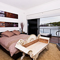 Master Bedroom With A View by Darren Burton