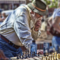 Master Chess Player by Bill Linhares
