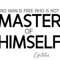 Master Of Himself - Epictetus by Razvan Drc