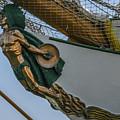 Masthead - Cisne Branco - Brazilian Tall Ship by Dale Powell