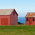 Matanaka Historic Site - Red Barn by Rodney Appleby