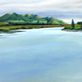 Mataura River Winter by Angela Treat Lyon