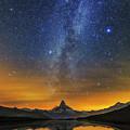Materhorn Milky Way by Ralf Rohner