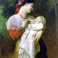 Maternal Admiration 1869 by William Bougeureau