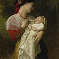 Maternal Admiration by William-Adolphe Bouguereau