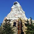 Matterhorn Disneyland by Mariola Bitner