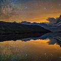 Matterhorn Milky Way Reflection by Ralf Rohner