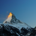 Matterhorn Switzerland Sunrise by Maria Swärd