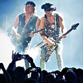Matthias Jabs And Rudolf Schenker Shredding by Daniel Mazzei