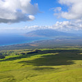 Maui Aerial by Ron Dahlquist - Printscapes