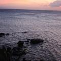 Maui Coast With Lava Rocks At Sunset by Robin Maria Pedrero