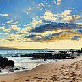 Maui Sunset Panorama by Eddie Yerkish