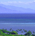 Maui View by James Temple