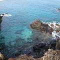 Maui Water And Rocks by Krista Kulas