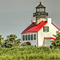 Maurice River, New Jersey, East Pointe  Lighthouse by Geraldine Scull