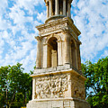 Mausoleum Of The Julii - Glanum Roman Ruins by Just Eclectic