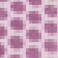 Mauve Plaid Pattern by K  Joy Brown