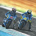 Maverick Y Aleix Full Brake by Adrian Lopez Lozano