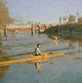 Max Schmitt In A Single Scull by Thomas Cowperthwait Eakins
