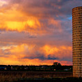 May Day Silo Sunset by James BO  Insogna