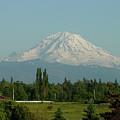 May Mt. Rainier by Shirley Heyn