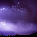 May Showers 2 In Color - Lightning Thunderstorm 5-10-11 Boulder by James BO Insogna